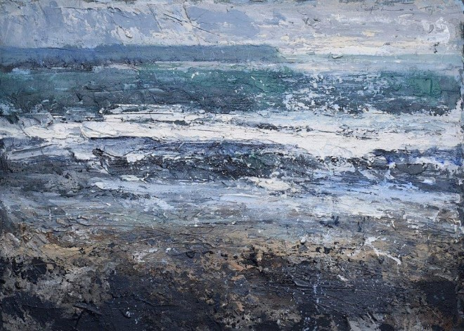 Beach walk, Pembrokeshire  Chris Prout