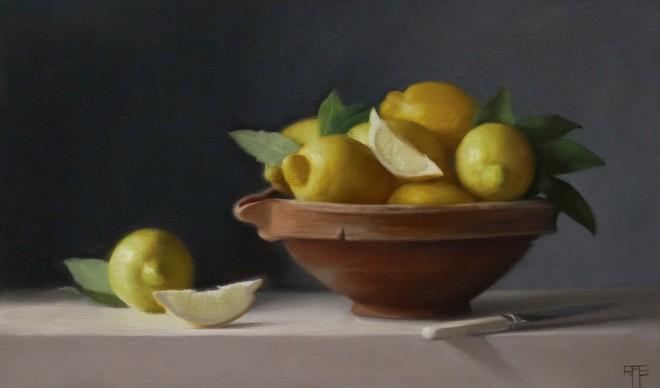 Lemons and wedges  Raquel Alvarez Sardina