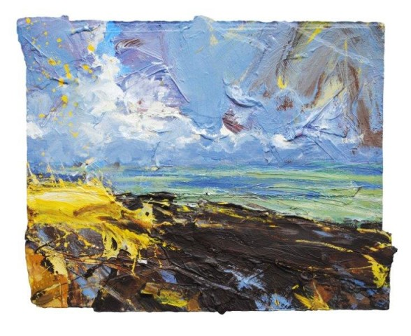 Looking Out (Above Porlock)  SOLD