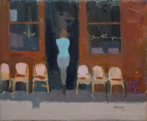 Michael G Clark PAI RSW  Café  SOLD