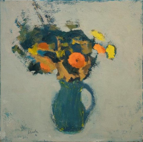 Michael G Clark PAI RSW  Flowers from Carol and Glen  SOLD