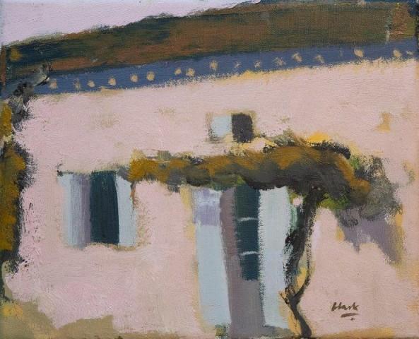 Michael G Clark PAI RSW  Little House, Rue Gaumard, Puymirol  SOLD