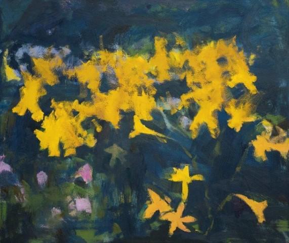 Michael G Clark PAI RSW  The Artist's Garden I