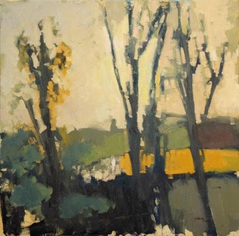 Michael G Clark PAI RSW  View from my Studio  SOLD