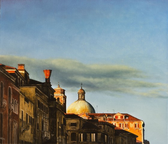 Along the Grand Canal, Venice