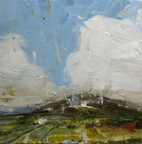 Louise Balaam, High blue sky Mountain of the Angels
