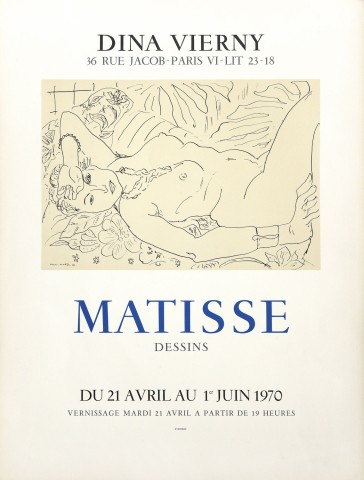 Henri Matisse, Dina Vierny