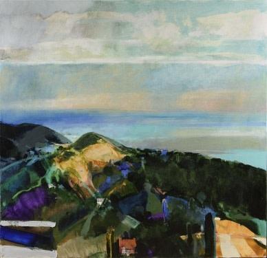 David Prentice, Black Hill & the Severn Plain, 2007