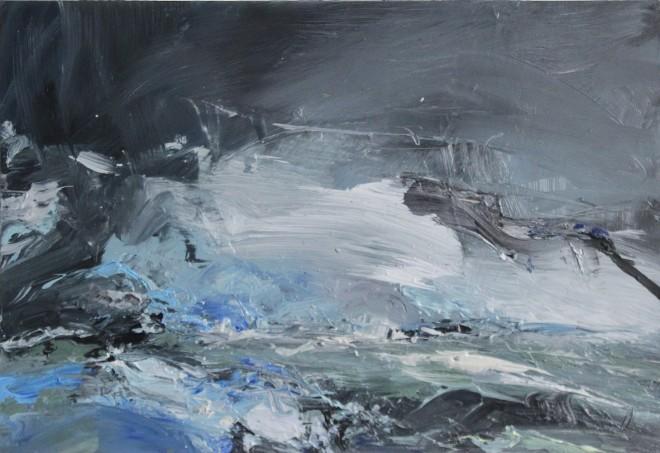 Janette Kerr Hon RSA PPRWA, Sea Swell, Voe of Dale, Shetland