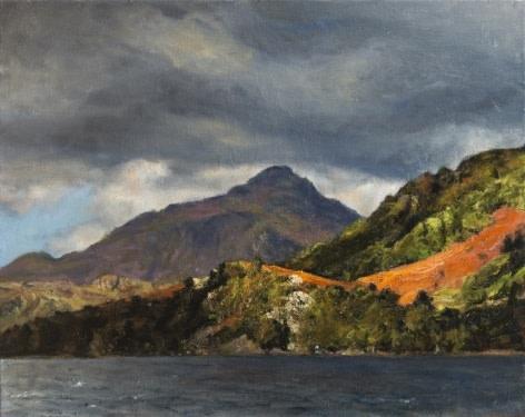 Fred Schley, From Llyn Gwynant, Snowdonia
