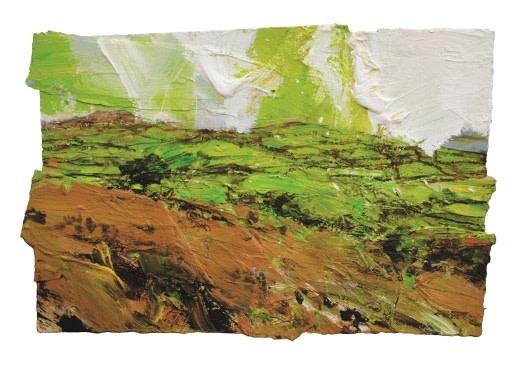 David Tress, Towards Meldon Down (Larks)