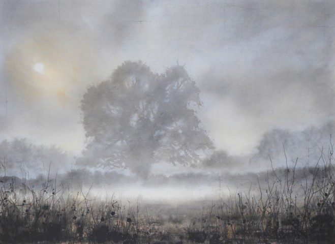 Gary Cook  Ground Cloud  SOLD
