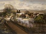 Rowland Hilder, The Garden of England (near Tonbridge, Kent)
