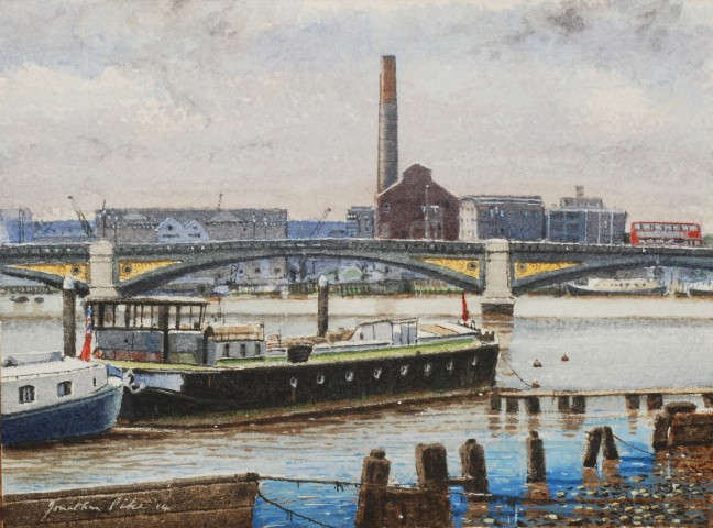 Jonathan Pike, Battersea Bridge
