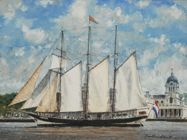 Jonathan Pike, Oosterschelde at Greenwich