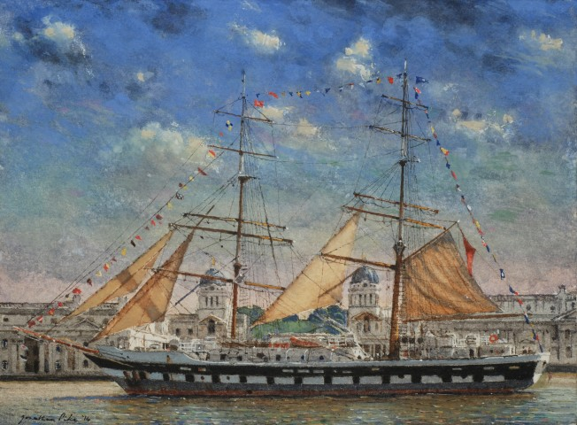 Jonathan Pike, Stavros S Niarchos at Greenwich