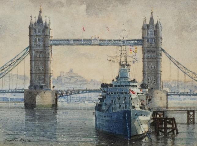 Jonathan Pike, Tower Bridge and HMS Belfast