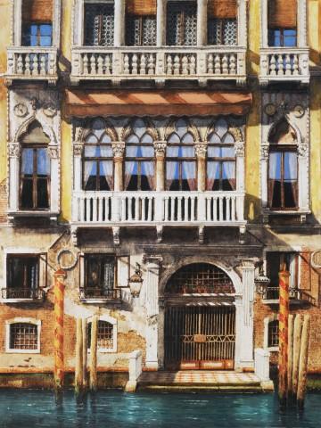Jonathan Pike, Palazzo Barbaro