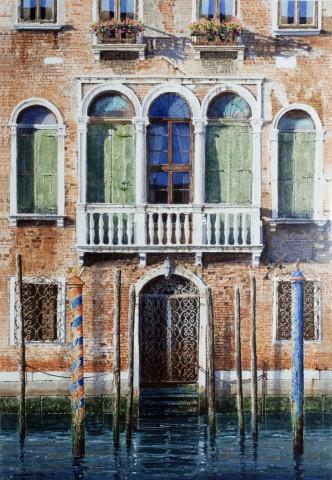 Jonathan Pike, Balcony and Shutters