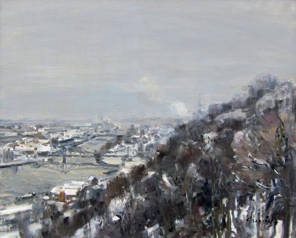 Gaston Sebire, Snow Over Rouen
