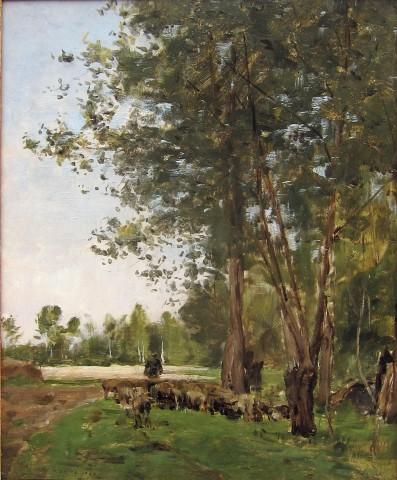 Charles Jacque, Le berger et son troupeau