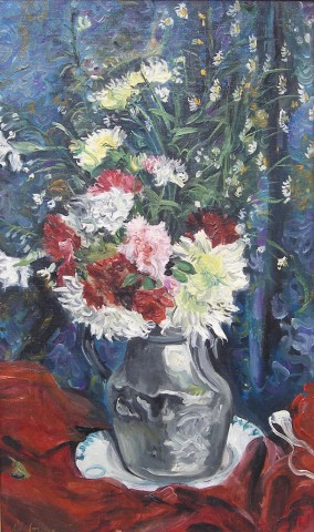 Lucien Adrion, Still life of flowers
