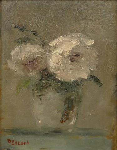 Dietz Edzard, Still life with flowers in a vase