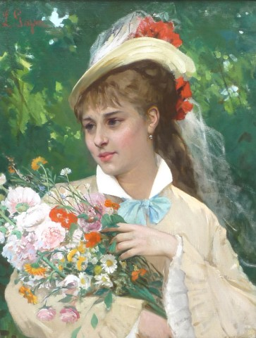 Leonardo Gasser, The Flower Girl