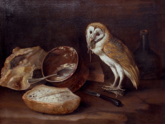George William Sartorius, An Owl's Lunch