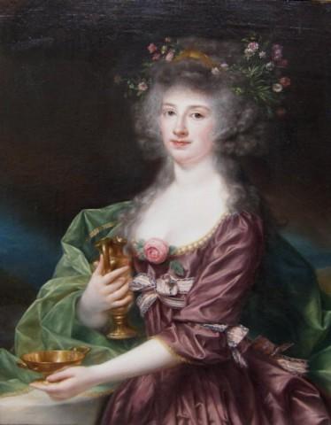 Anton Von Maron, Portrait of a Lady