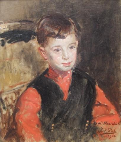 Jacques-Emile Blanche, Portrait of Narischkin