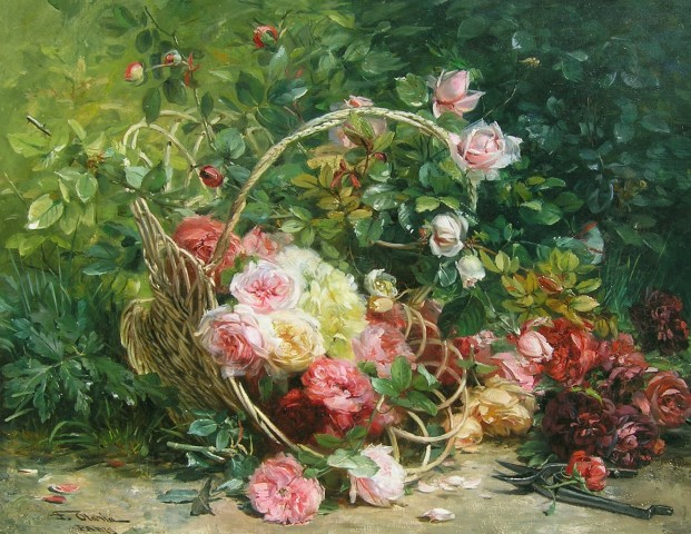 Federico Olario, Basket of flowers