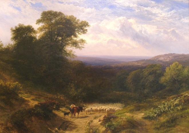 George Cole, Landscape