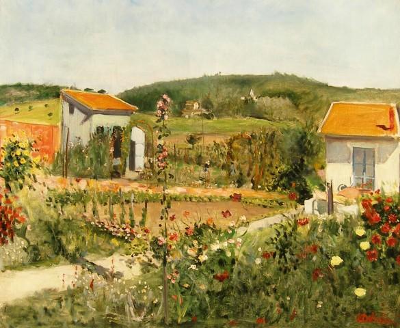 Lucien Adrion, The Garden Huts