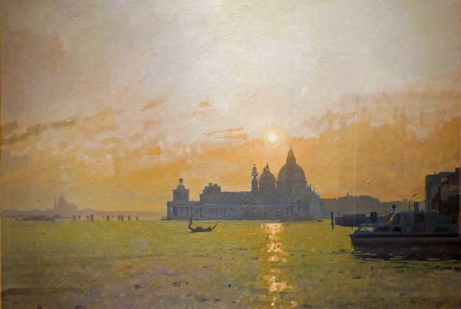 Peter Kelly, Dusk at Santa Maria della Salute