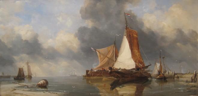 E. W. Cooke RA, Zuyder Zee Fishing Craft