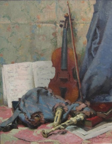 Paul Jean Hughes, The Violin