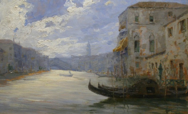 Ferdinando Silvani, Venetian View (II of II)