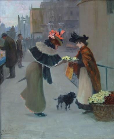 Albert Ludovici, The Flower Seller