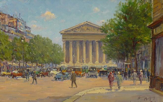 Henry Malfroy, La Madeleine, Paris