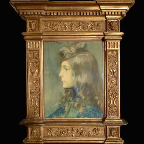 Lucien-Victor Guirand de Scevola, Portrait of a girl