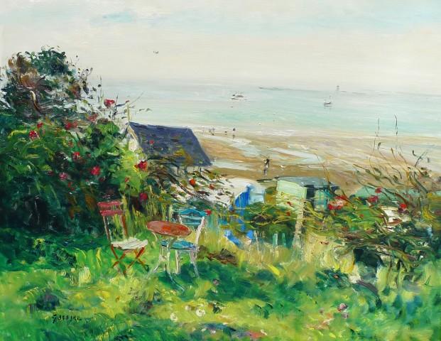 Gaston Sebire, La dejeuner sur la plage