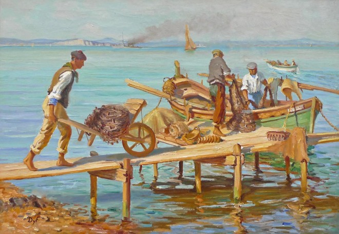 Marcel Dyf, Fishermen