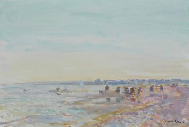 Gaston Sebire, Beach Scene