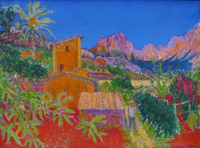 Frederick John Pym Gore RA, CBE, Mallorca Landscape