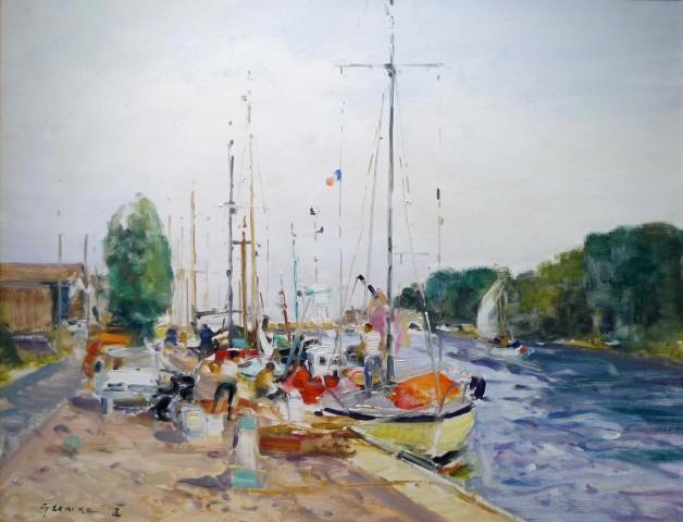 Gaston Sebire, Boating