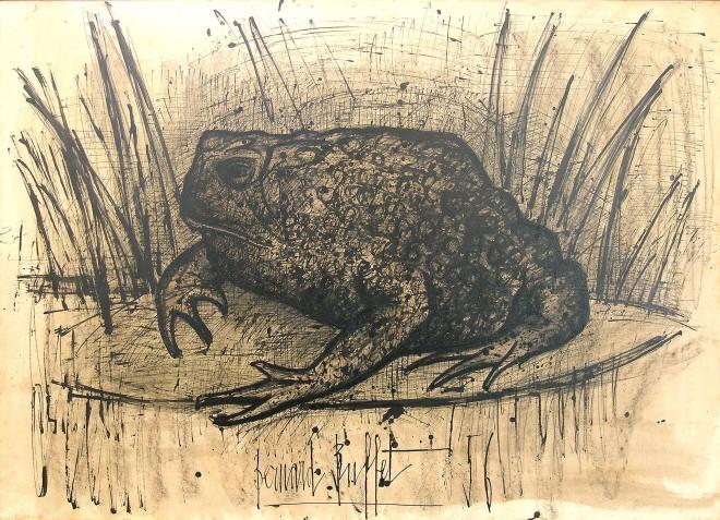 Bernard Buffet, Toad