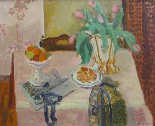 Jules Cavailles, Les Tulipes Roses