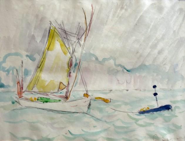 Paul Signac, Les Thoniers, Concarneau