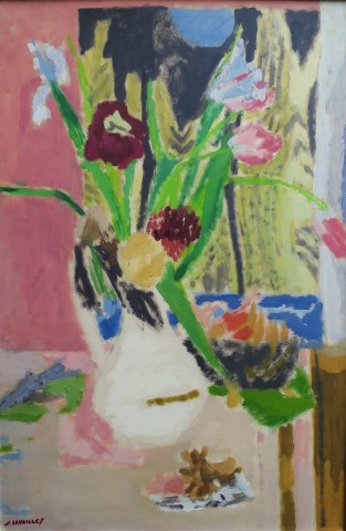Jules Cavailles, Tulips and Irises